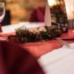 Tischgedeck Weihnachten